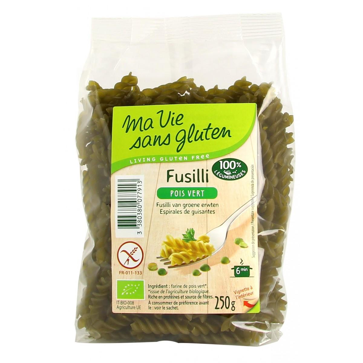 Groene Erwten Fusilli
