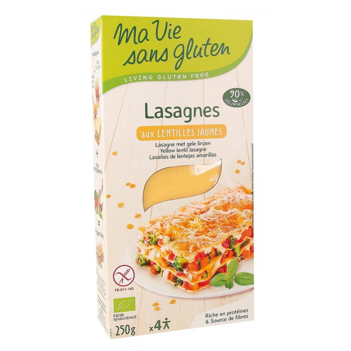 Lasagne Met Gele Linzen