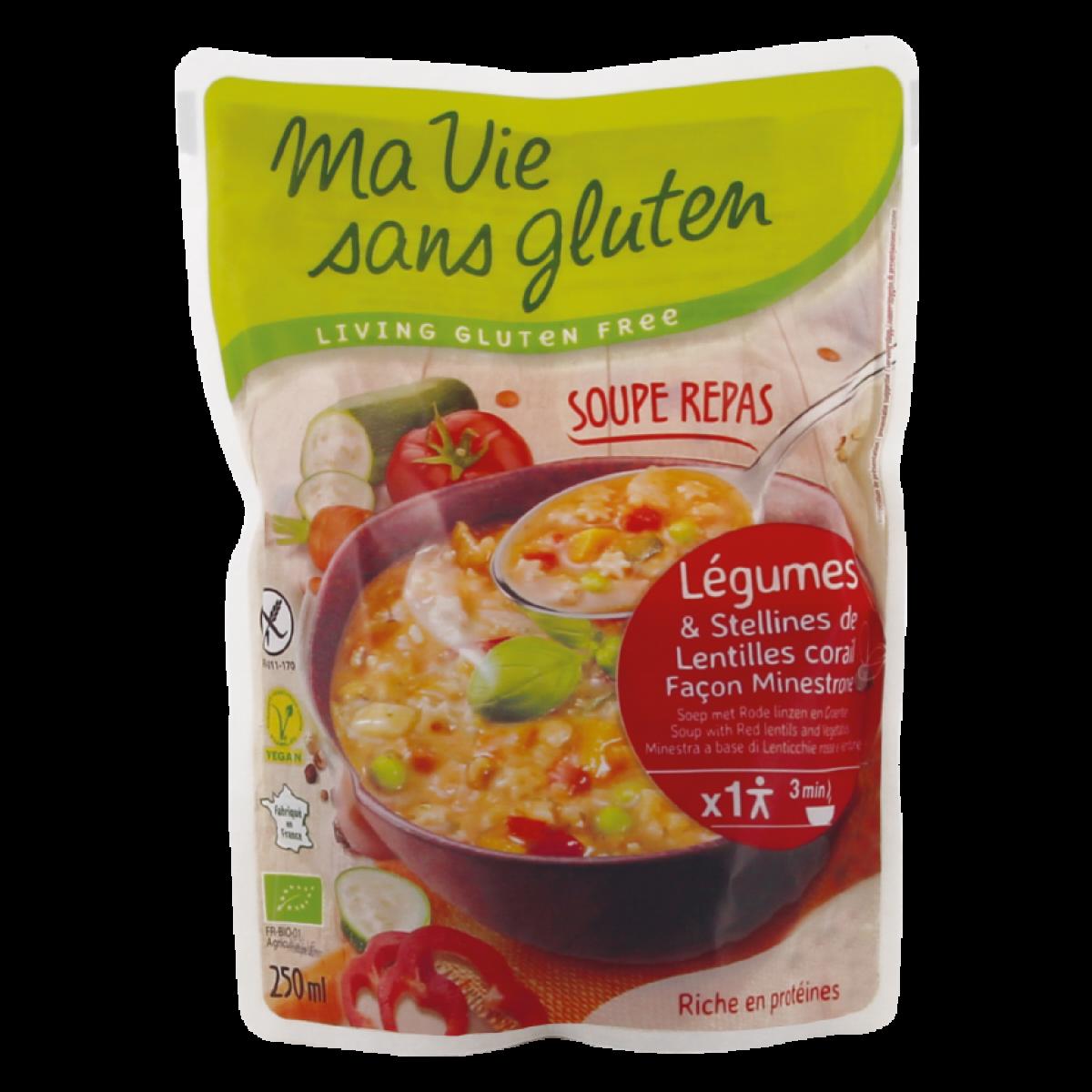 Soep Met Rode Linzen & Groenten