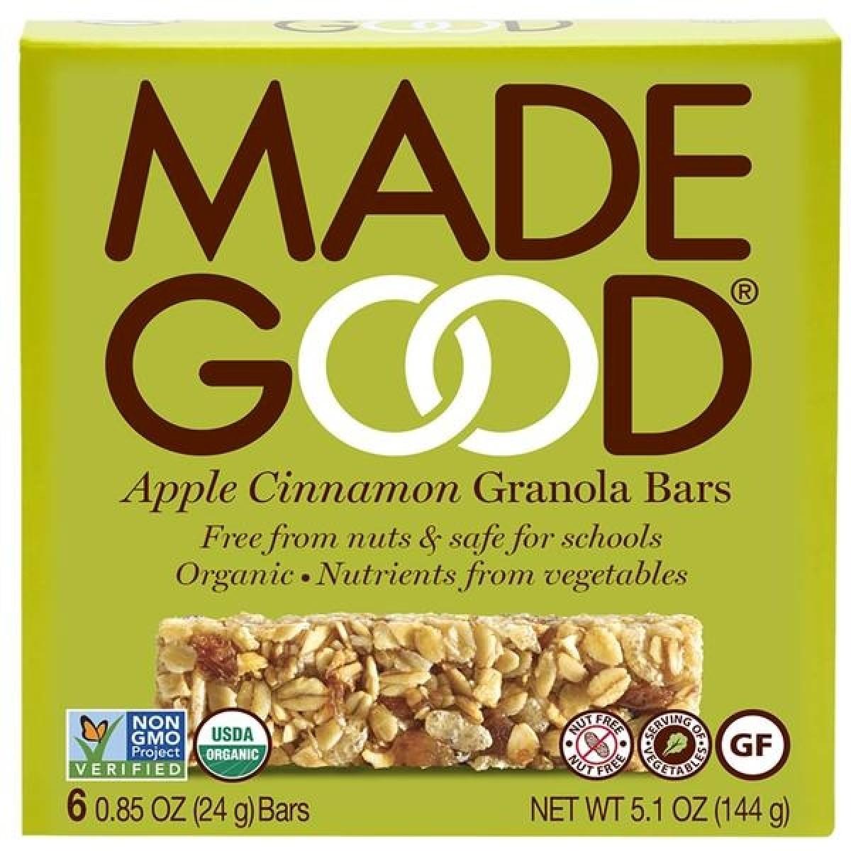 Granola Bars Apple Cinnamon