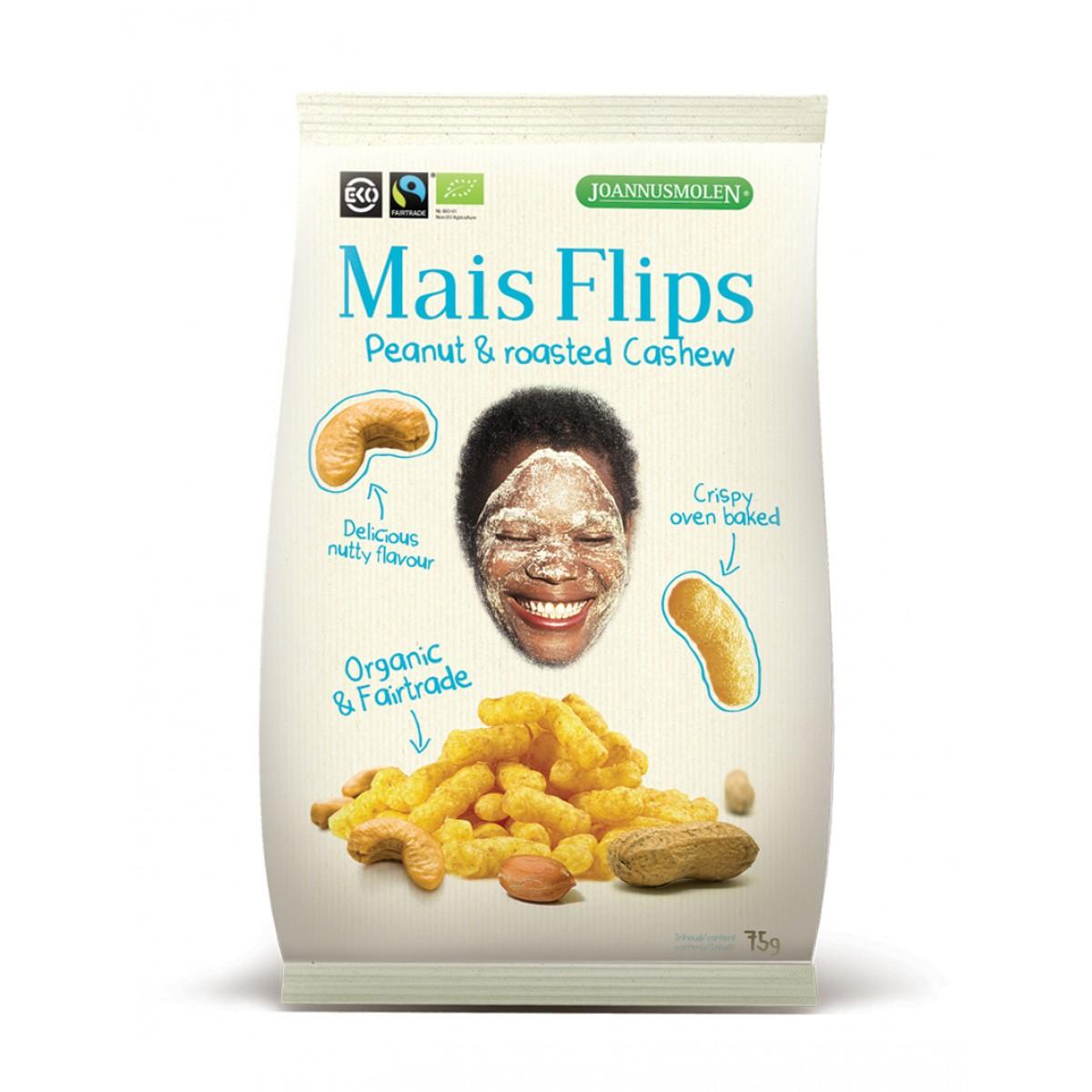 Mais Flips Peanut & Roasted Cashew
