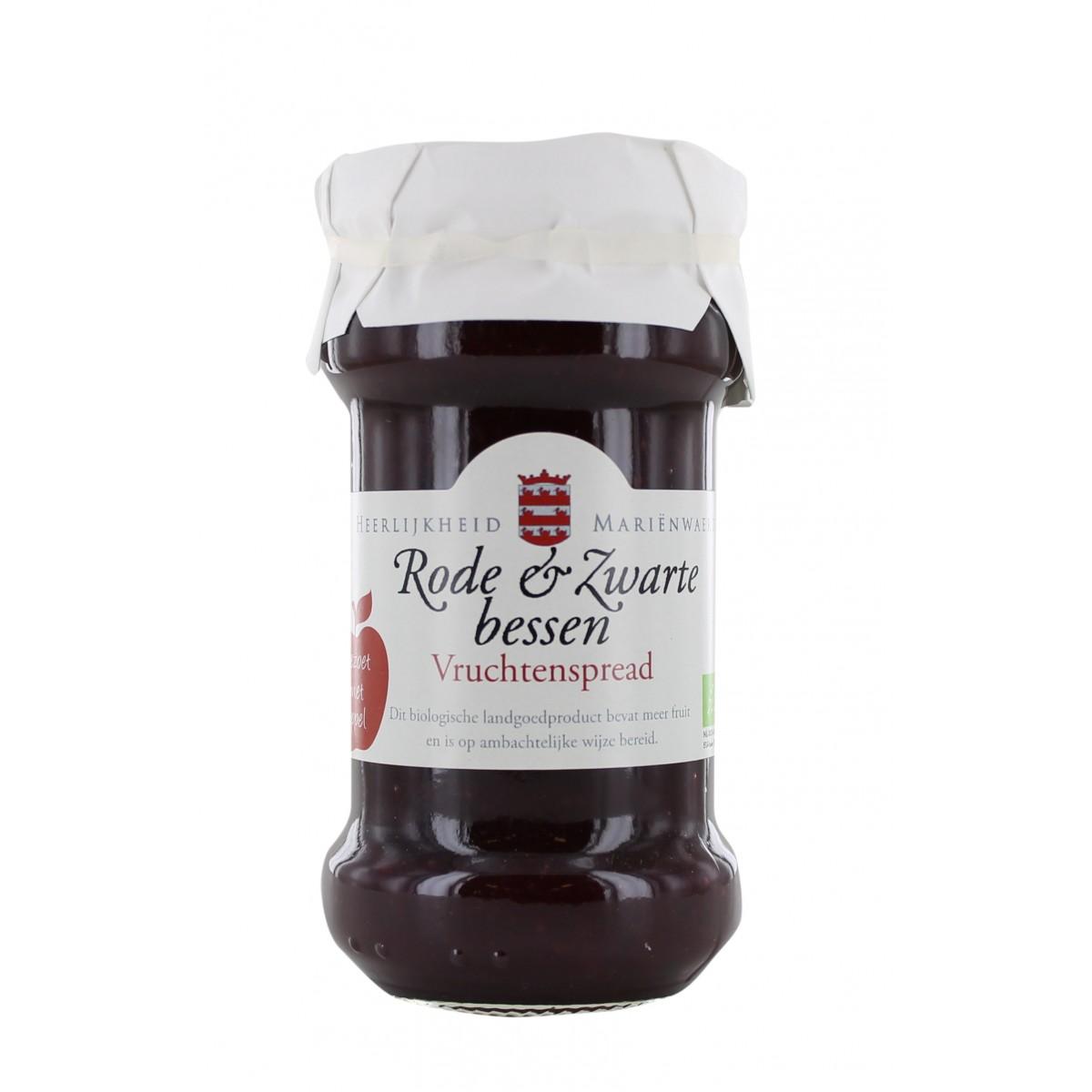 Vruchtenspread Rode & Zwarte Bessen