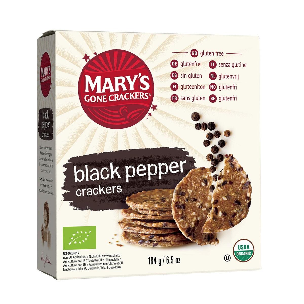 Crackers Zwarte Peper