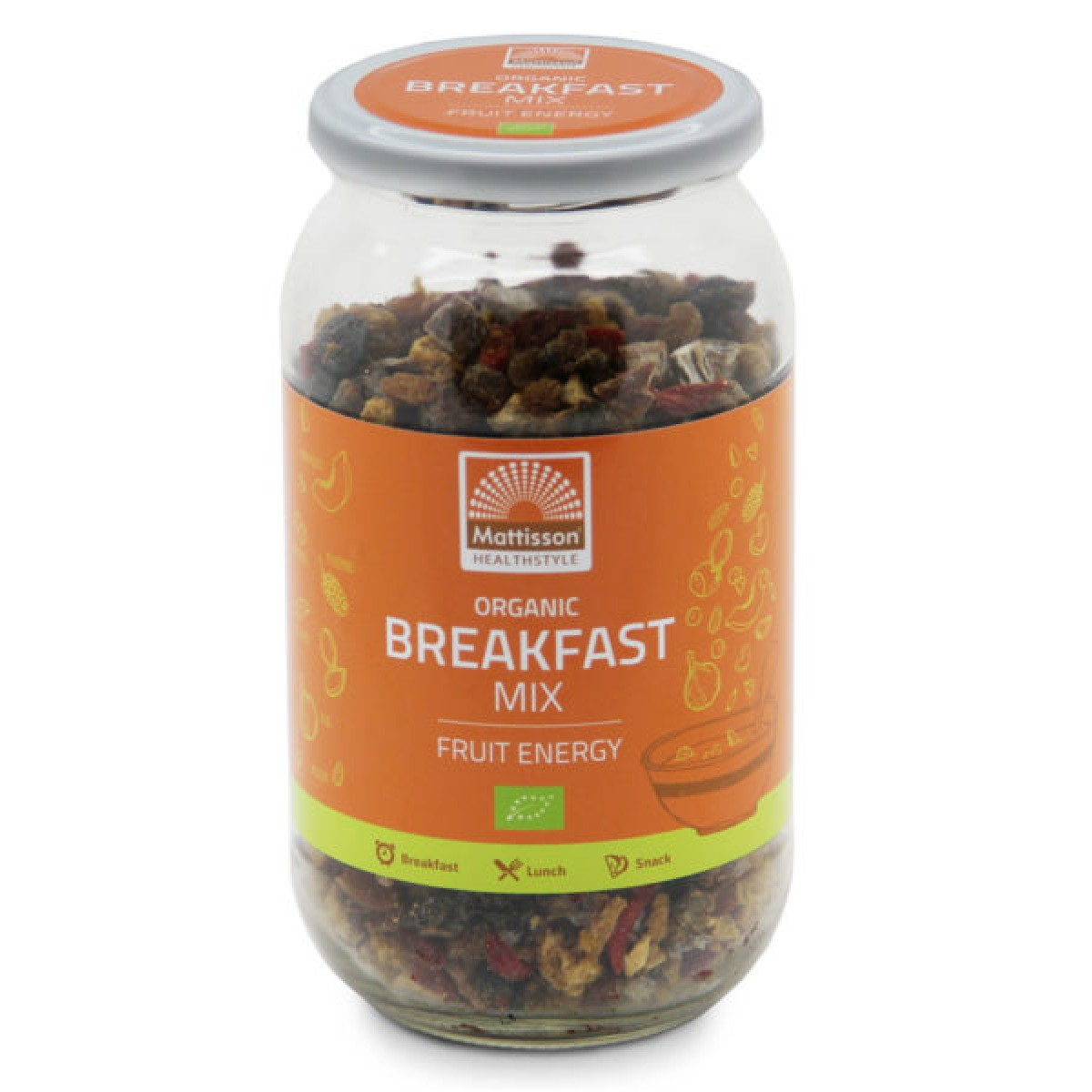 Breakfast Mix Fruit Energy