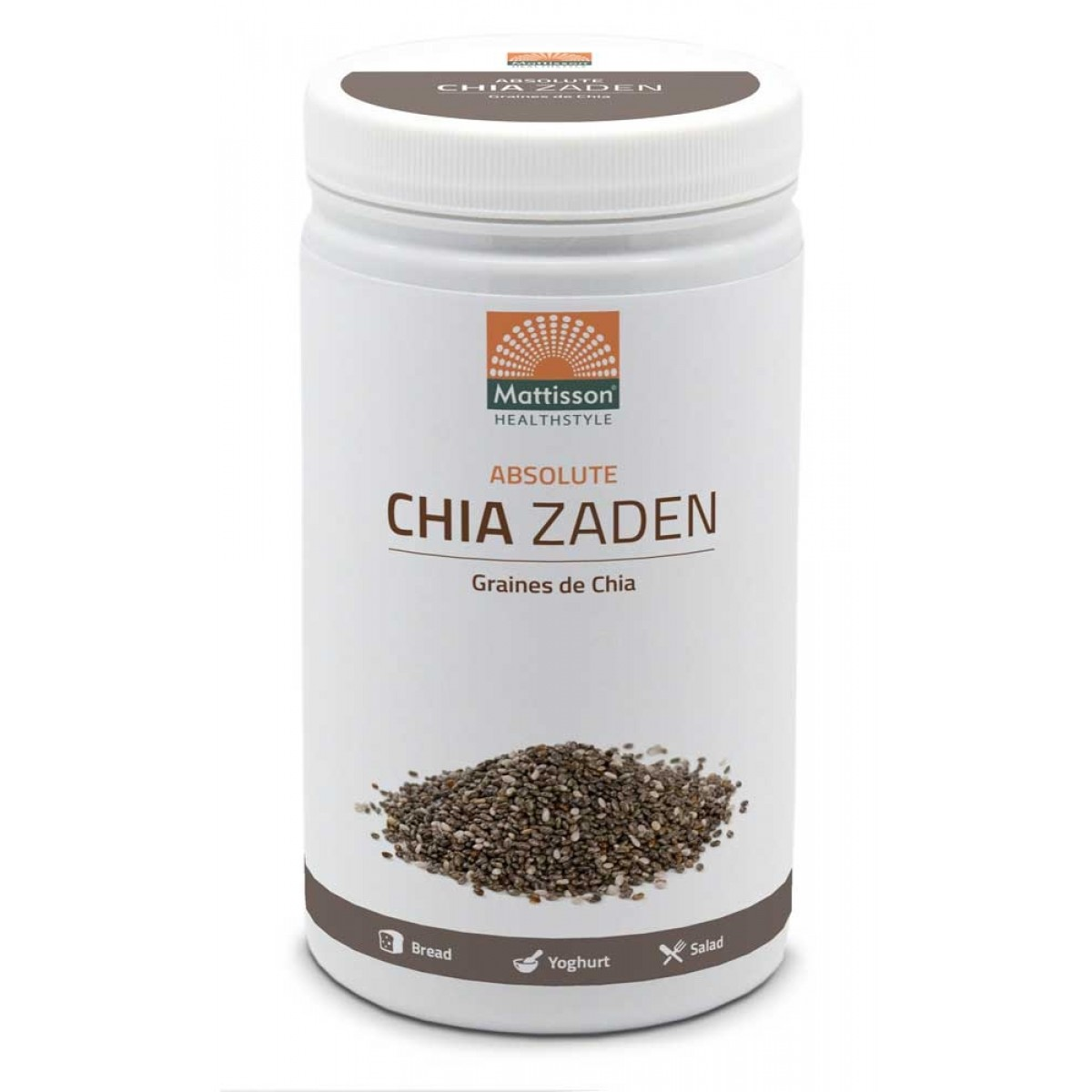 Absolute Chia Zaad Raw 500 gram