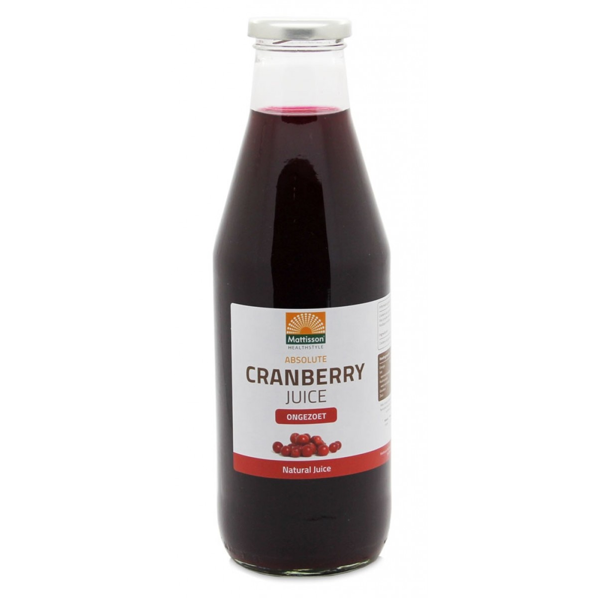 Cranberry Sap Ongezoet