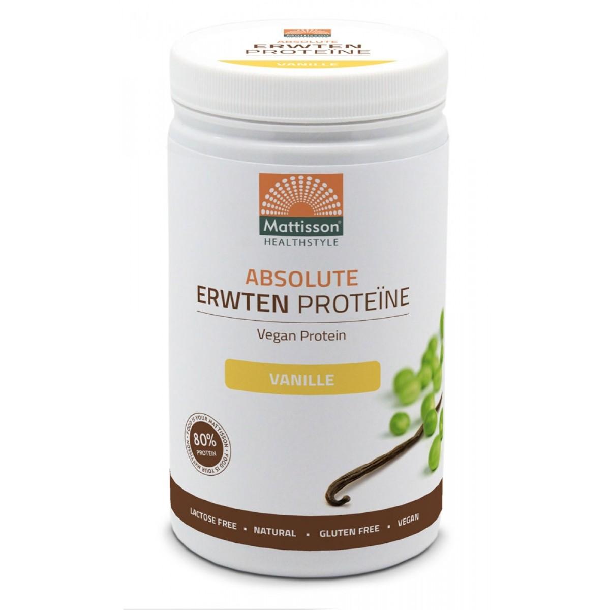 Erwten Proteïne Poeder Vanille
