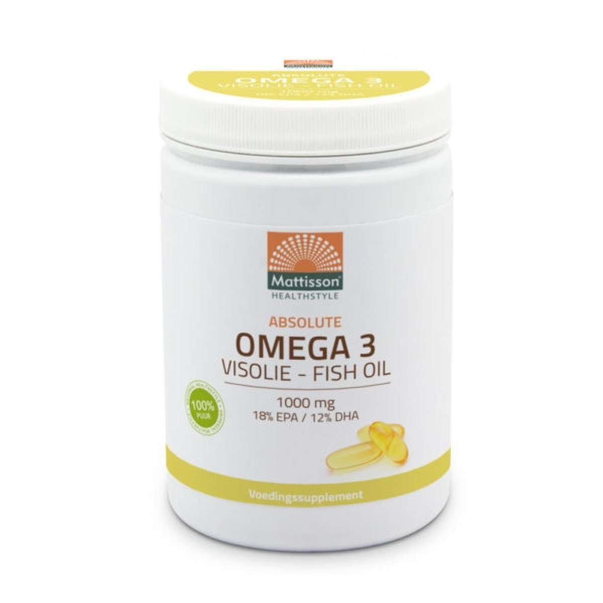 Absolute Omega 3 Visolie 600 Capsules