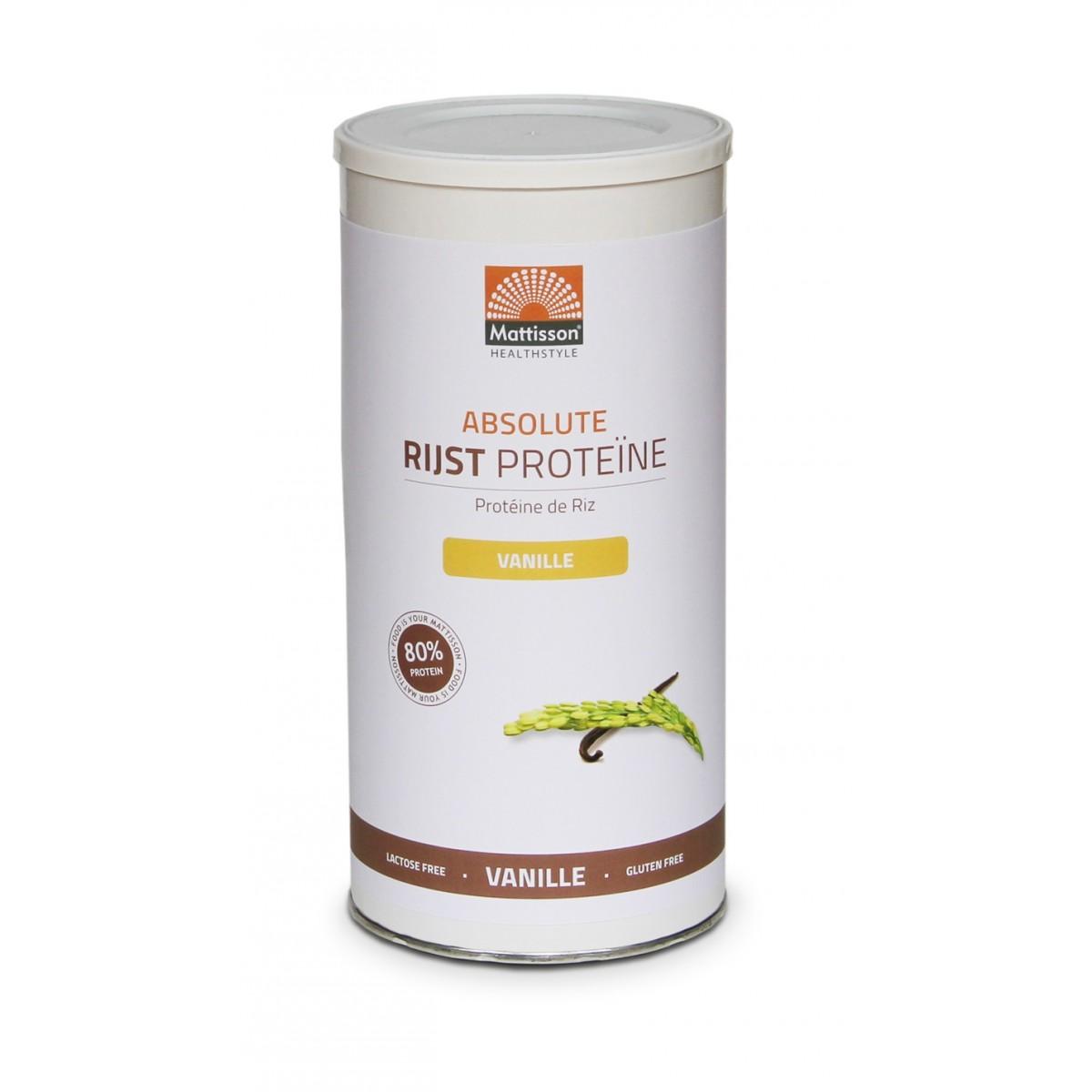Rijst Proteïne Vanille
