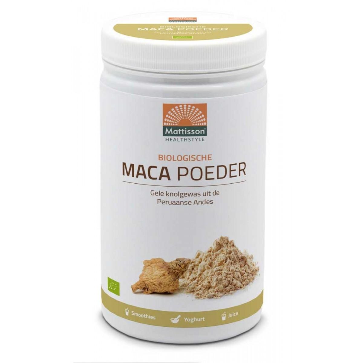 Active Maca Poeder Biologisch 1000 gram