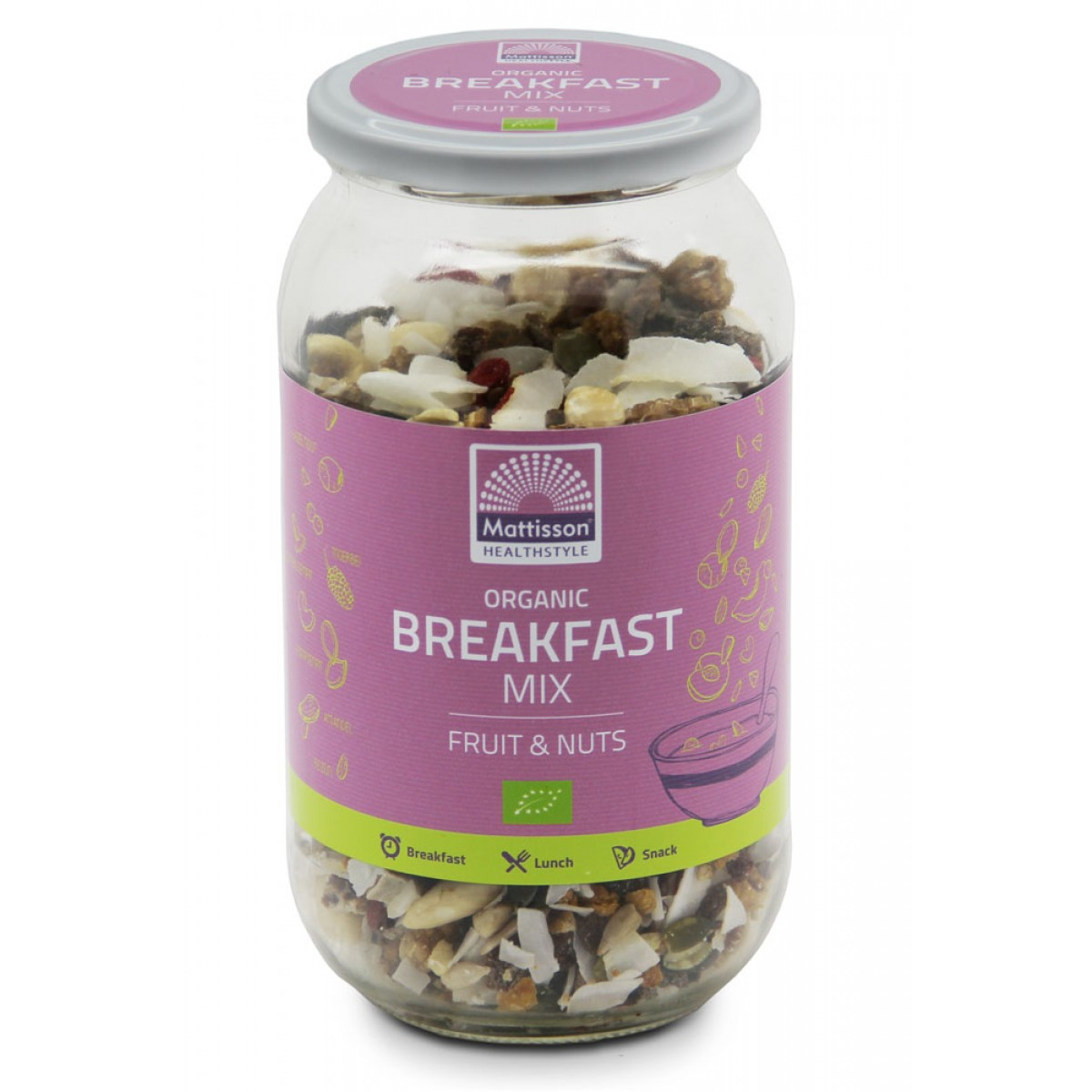 Breakfast Mix Fruit & Nuts