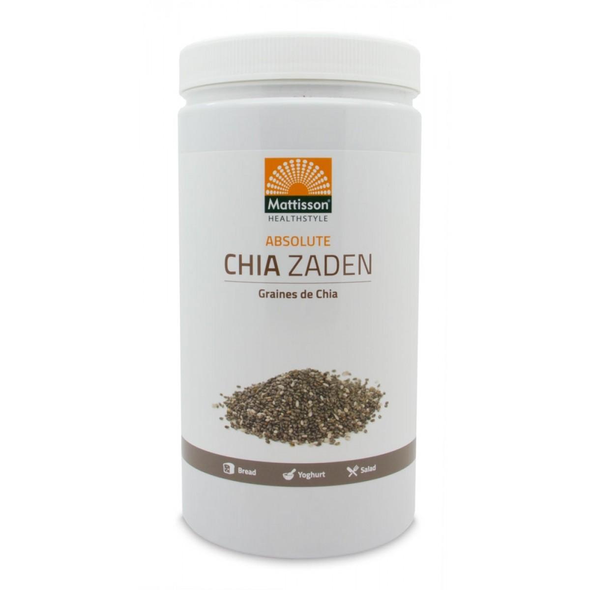 Absolute Chia Zaad Raw 1000 gram