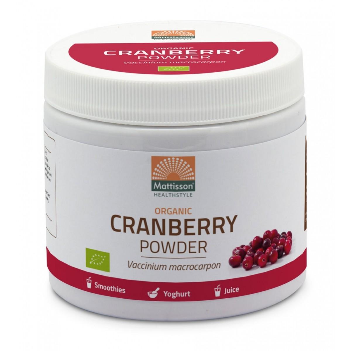 Cranberry Poeder Biologisch