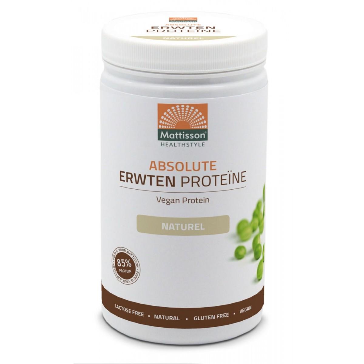Erwten Proteïne Poeder Naturel