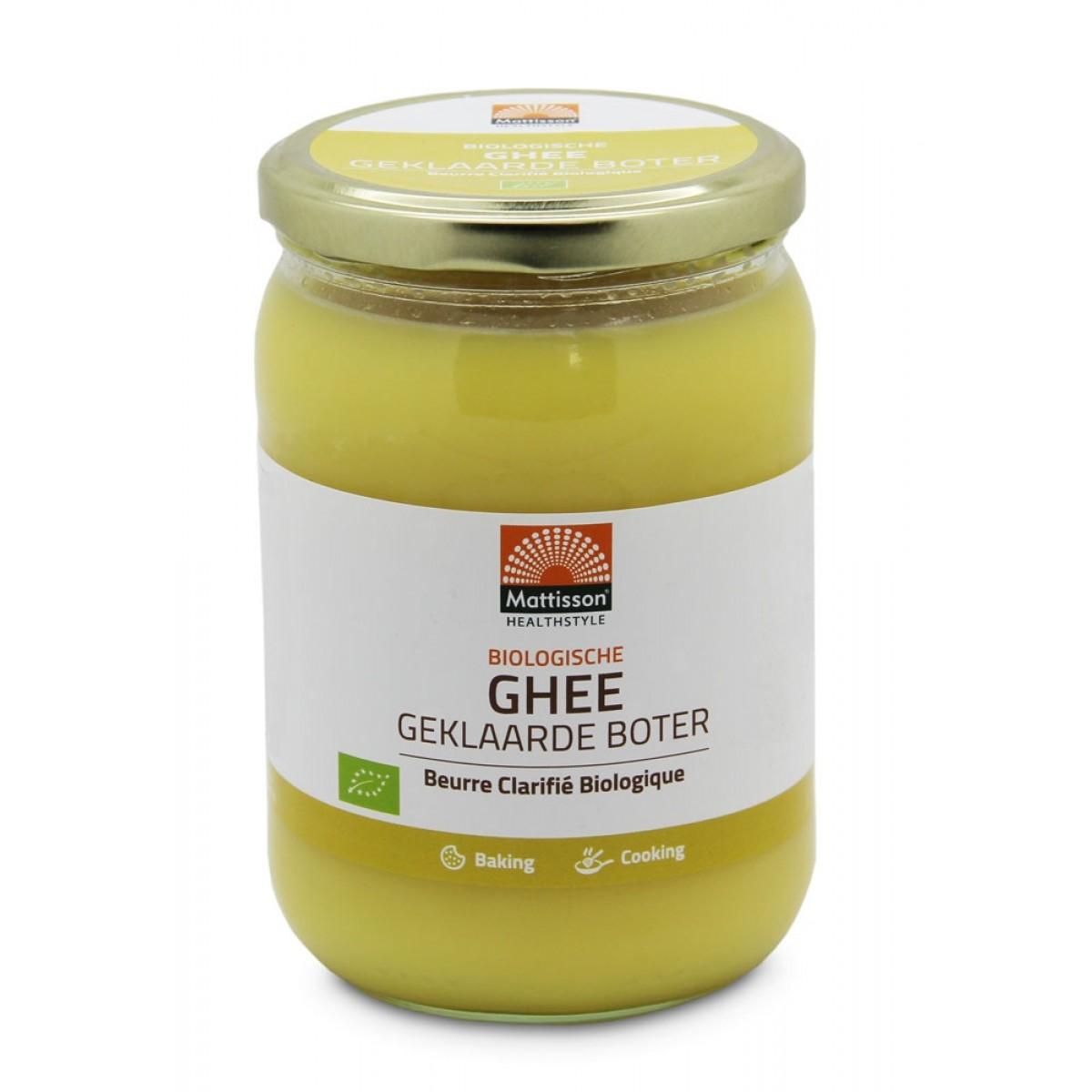 Ghee Biologisch 500 gram