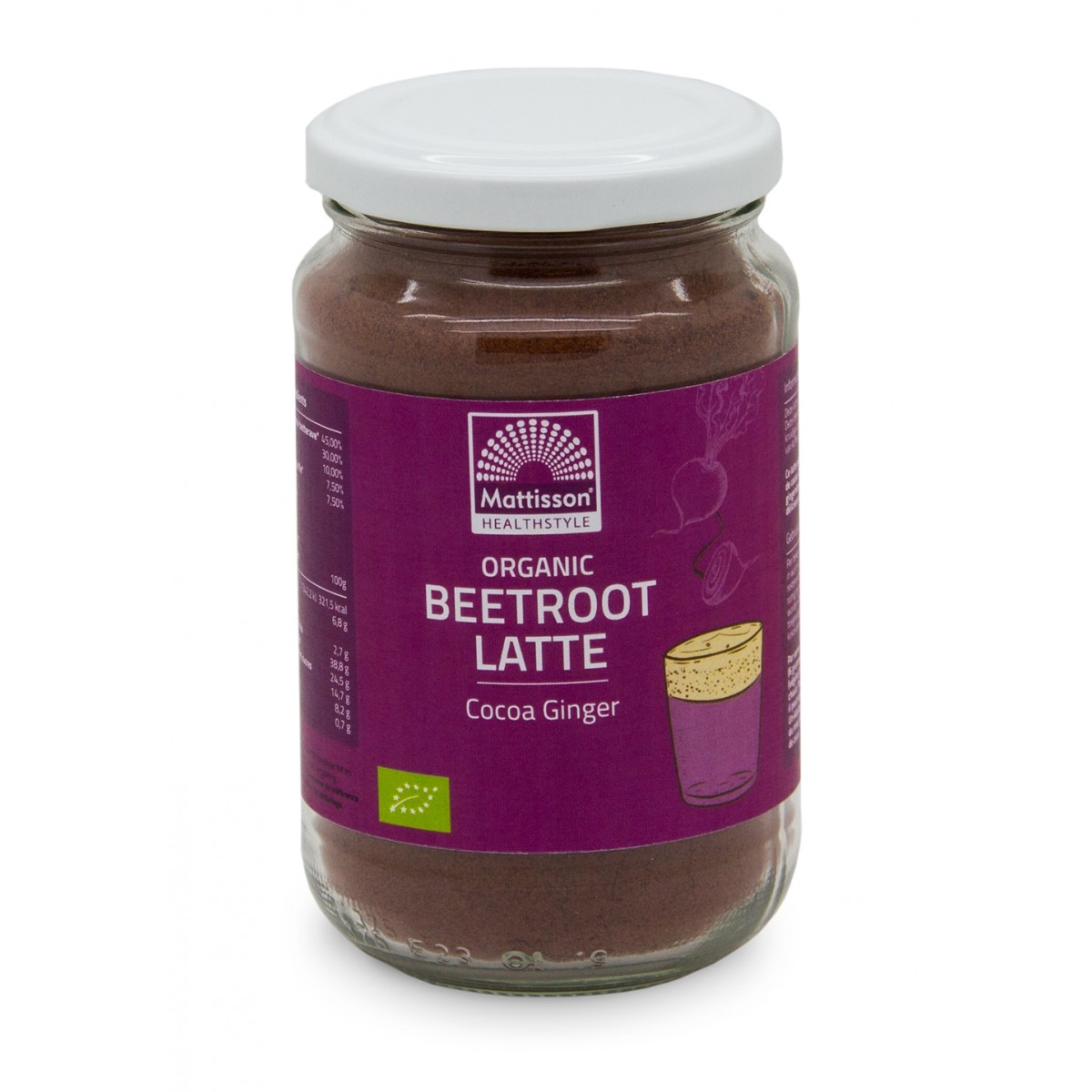 Beetroot Latte Gember - Cacao