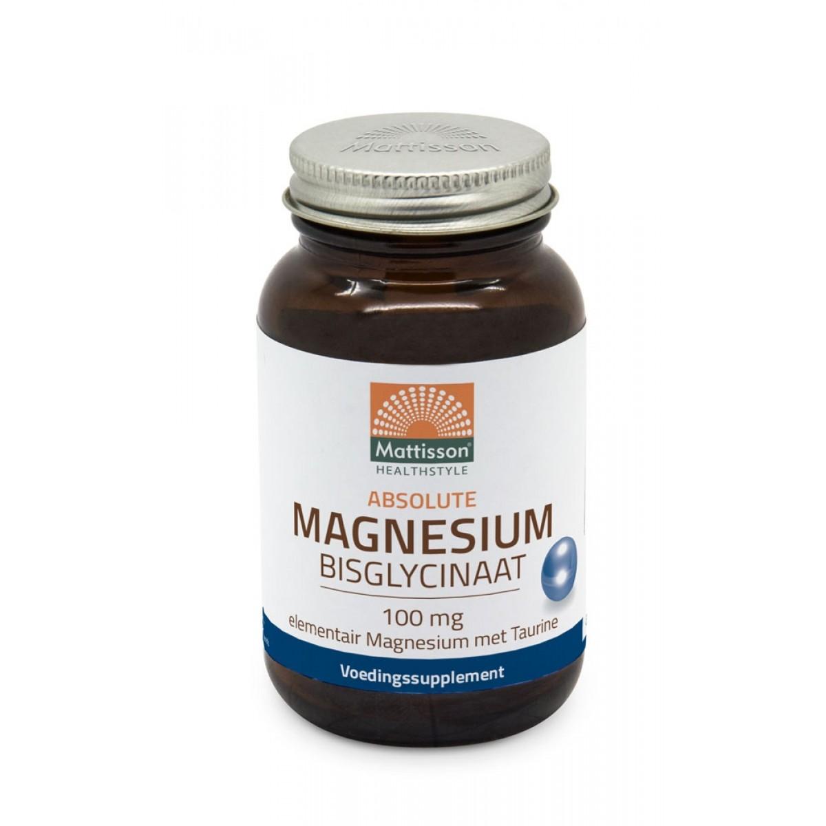 Magnesium Bisglycinaat 100 mg Taurine