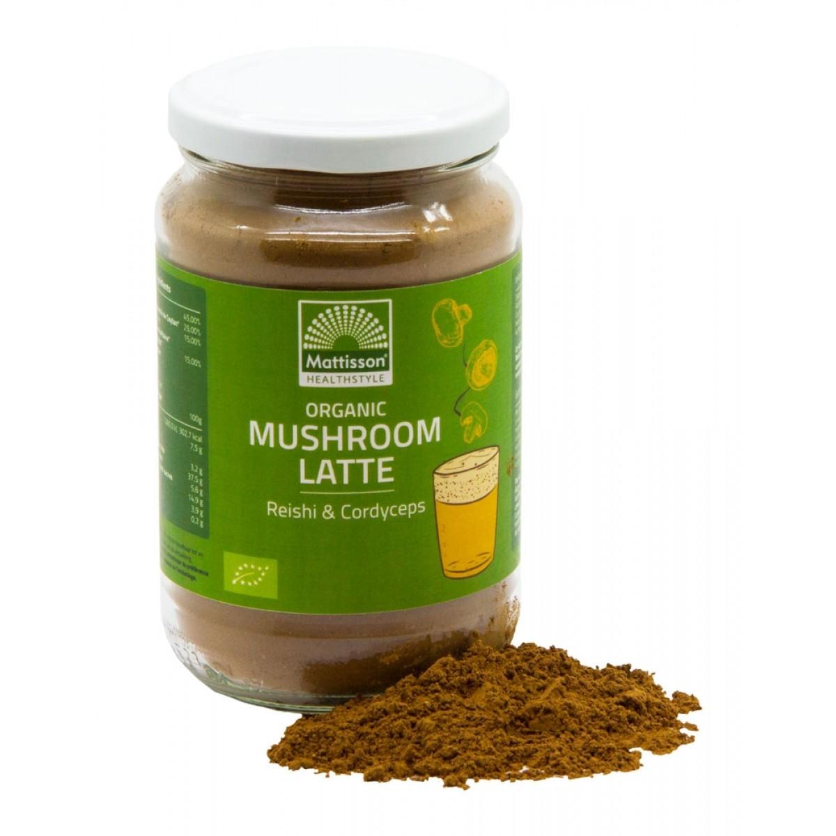 Mushroom Latte Reishi - Cordyceps