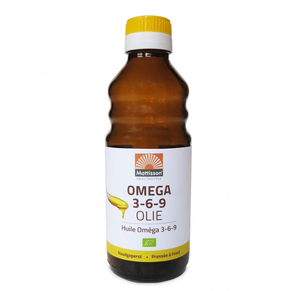 Omega 3-6-9 Olie