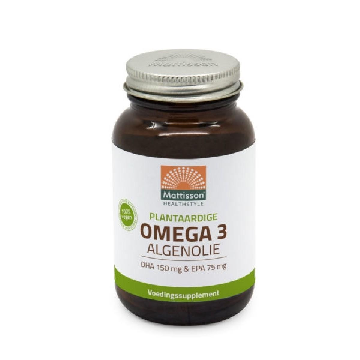 Omega 3 Algenolie 120 capsules