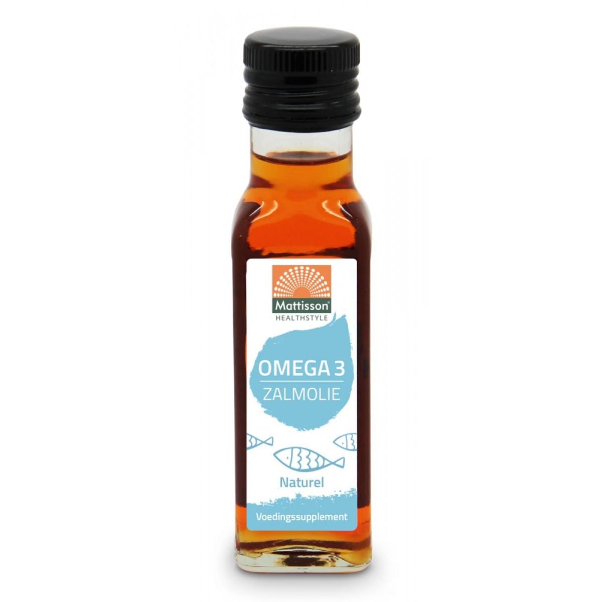 Omega-3 Zalmolie Naturel