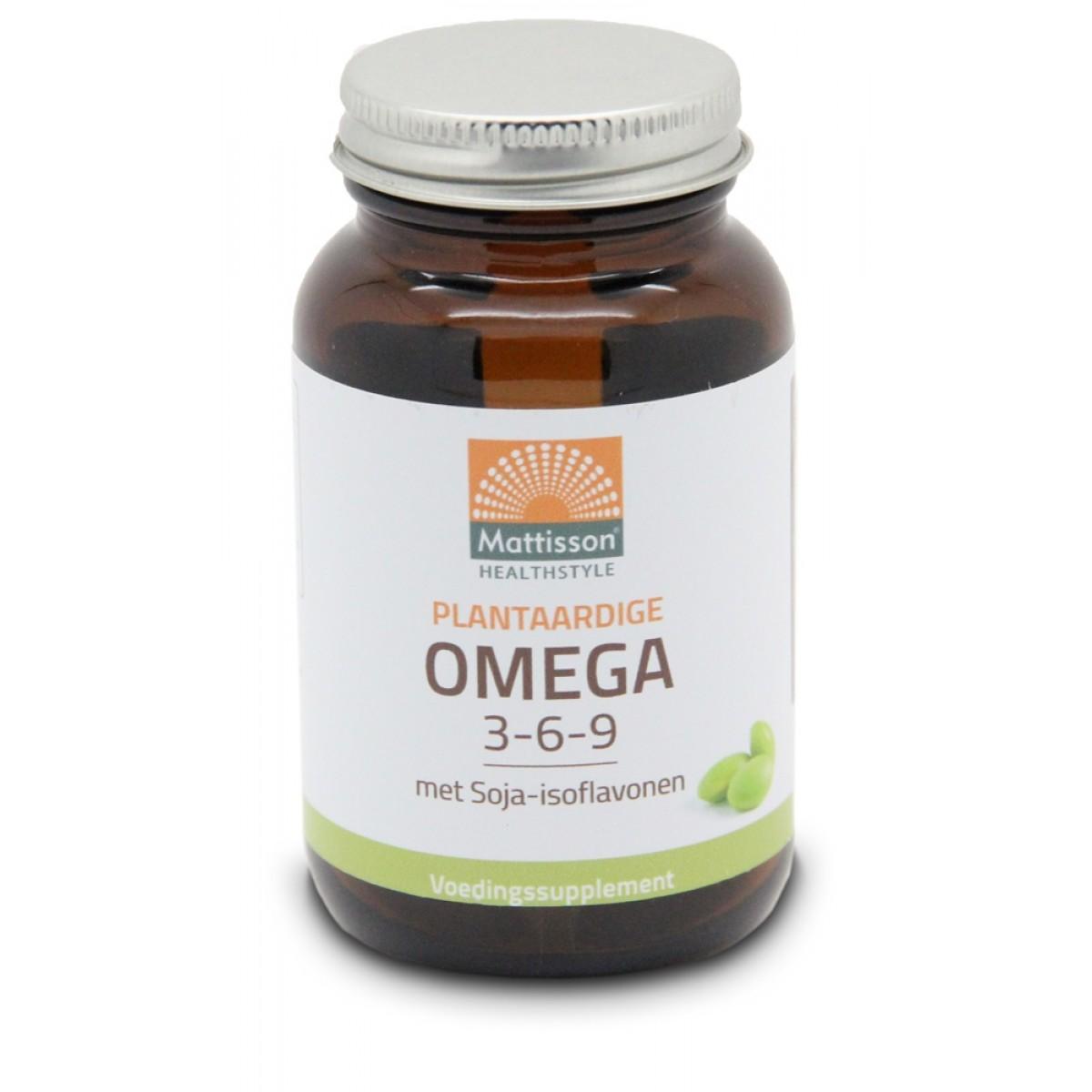 Plantaardige Omega 3-6-9 met Soja-isoflavonen