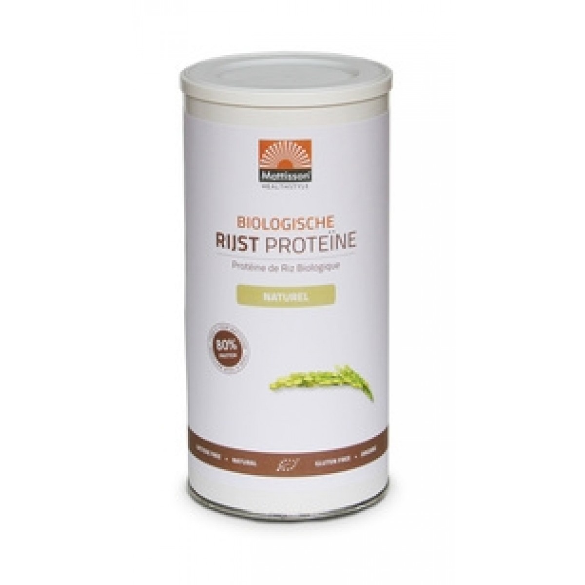 Rijst Proteïne Naturel Biologisch