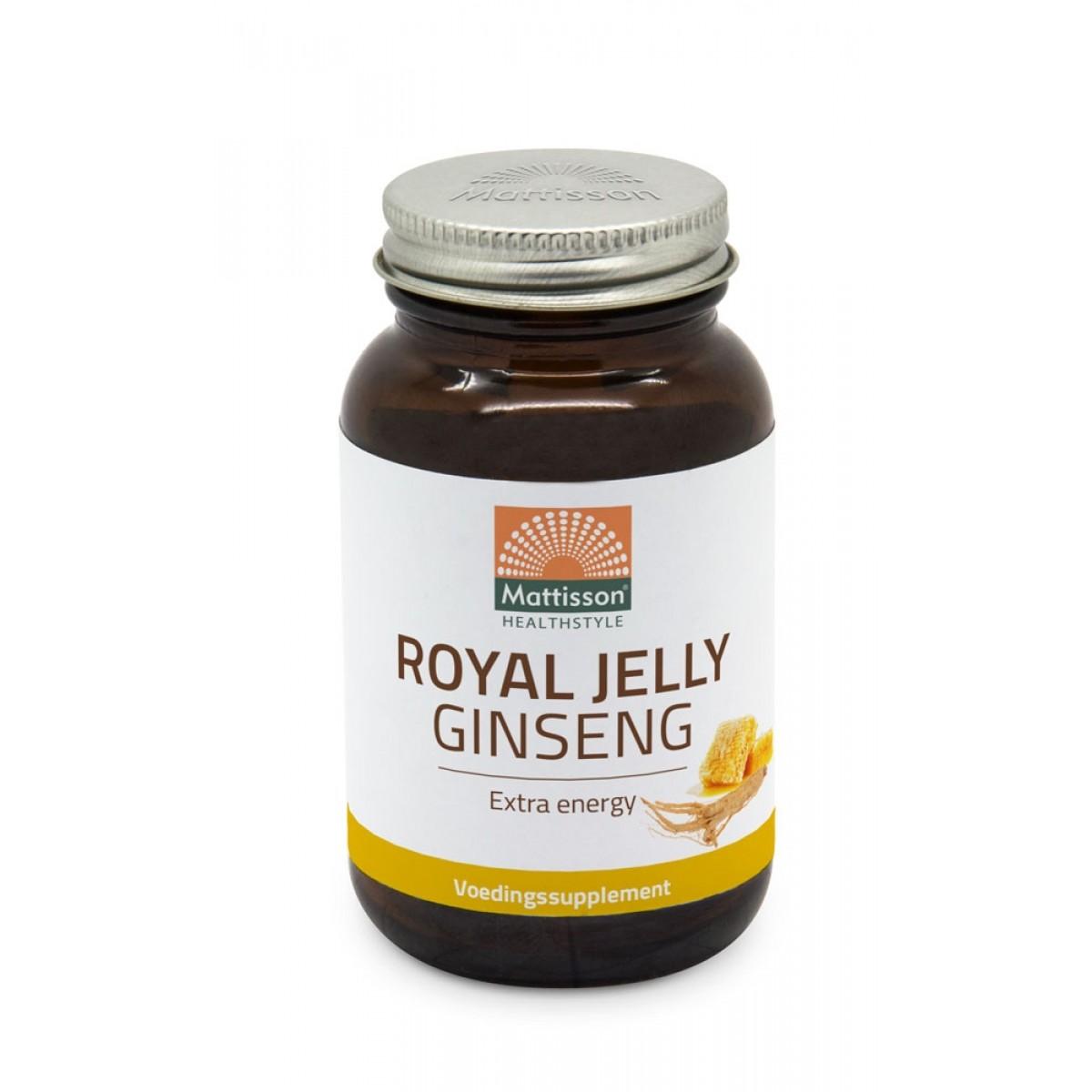 Royal Jelly en Gingseng