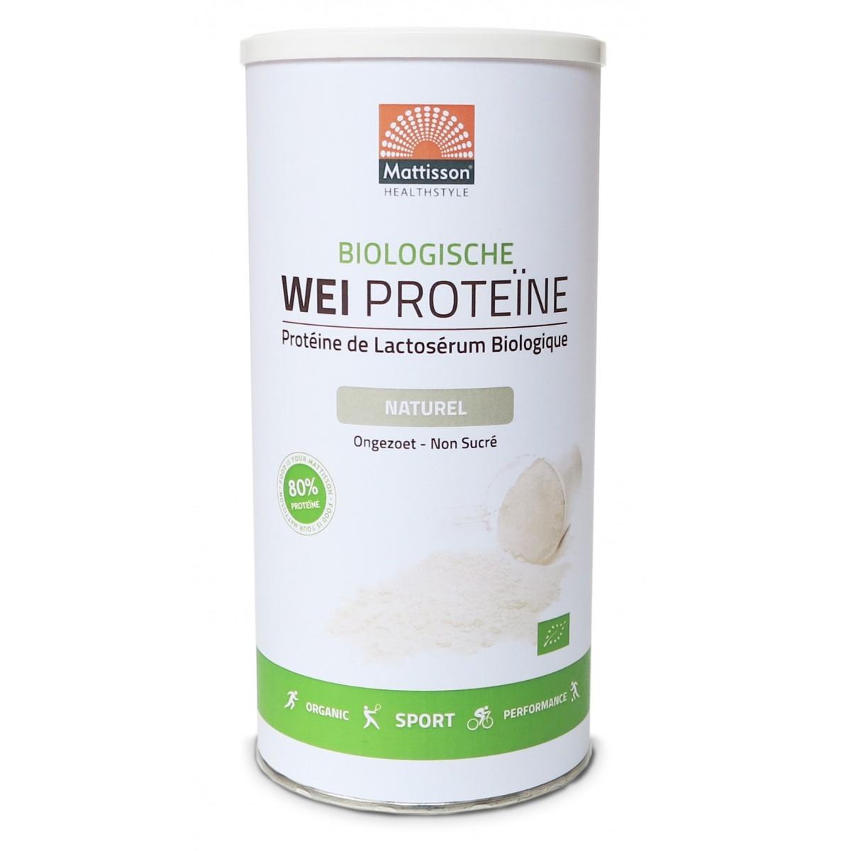 Wei Proteïne Naturel Biologisch