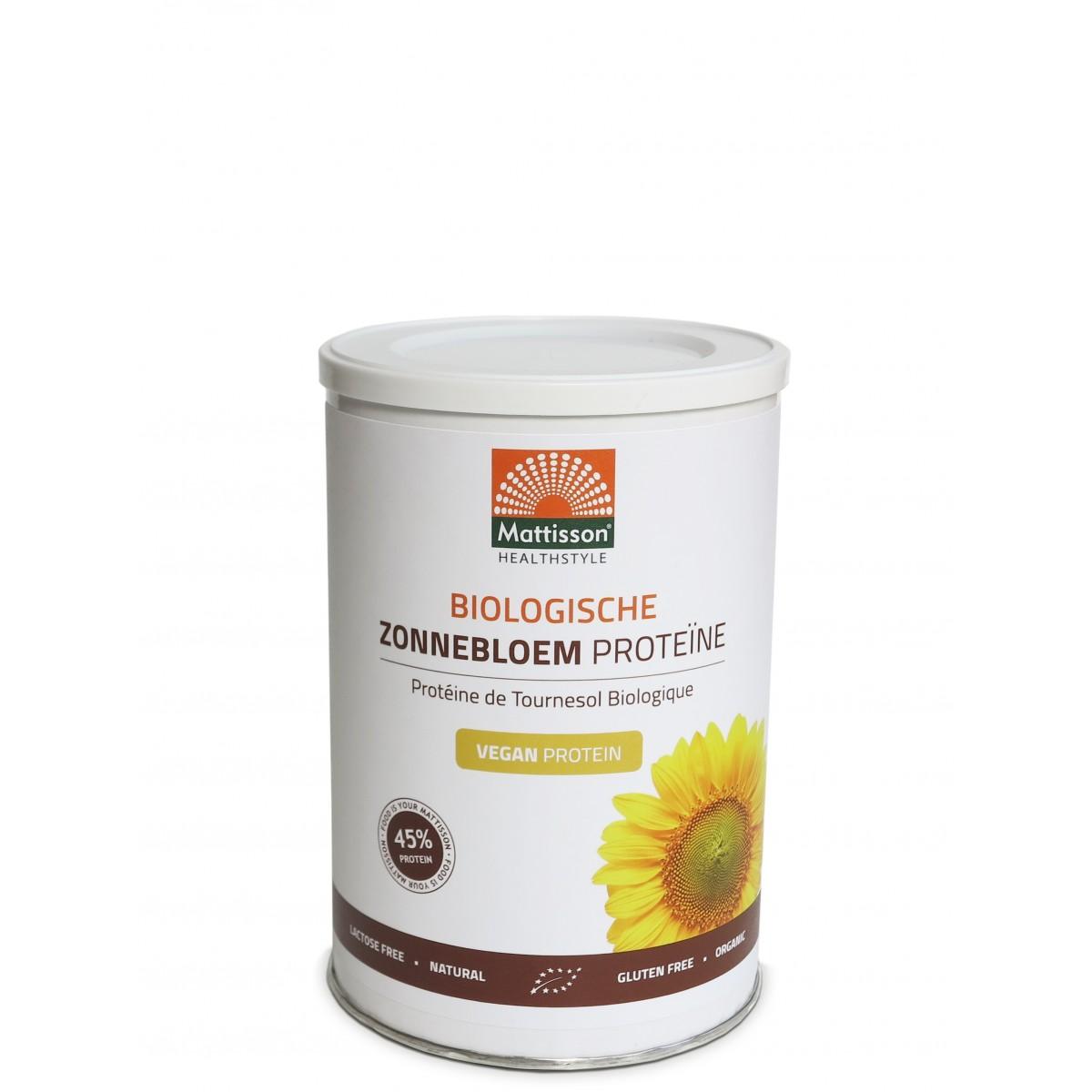 Zonnebloem Proteïne Biologisch