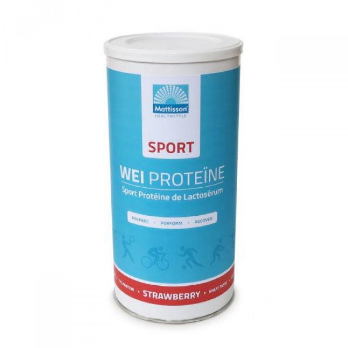 Wei Proteïne Sport Aardbei