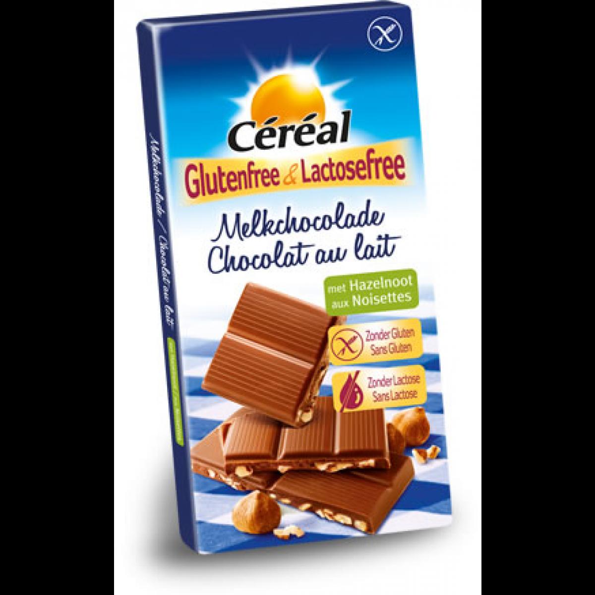 Melkchocoladereep Hazelnoot