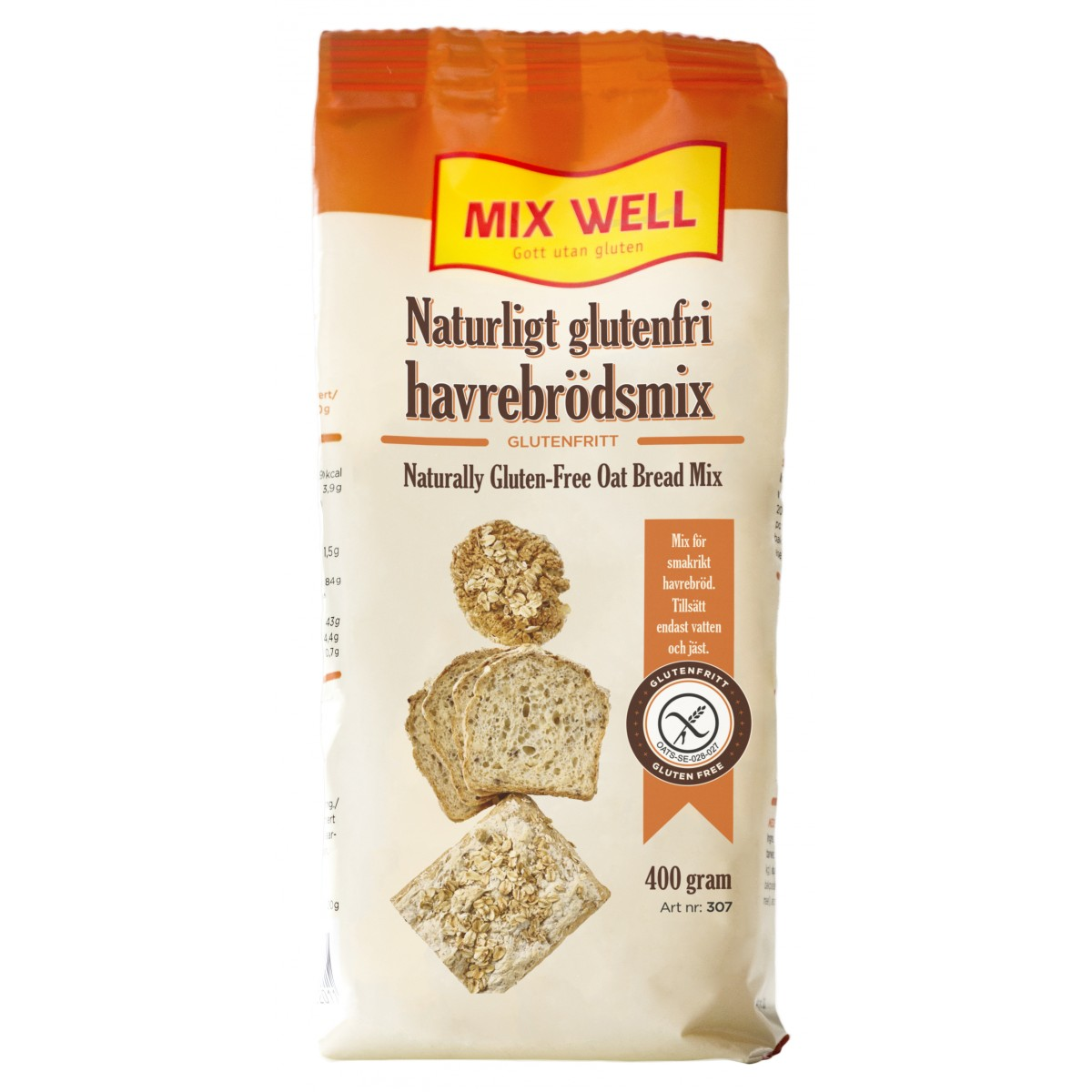 Haverbroodmix 307