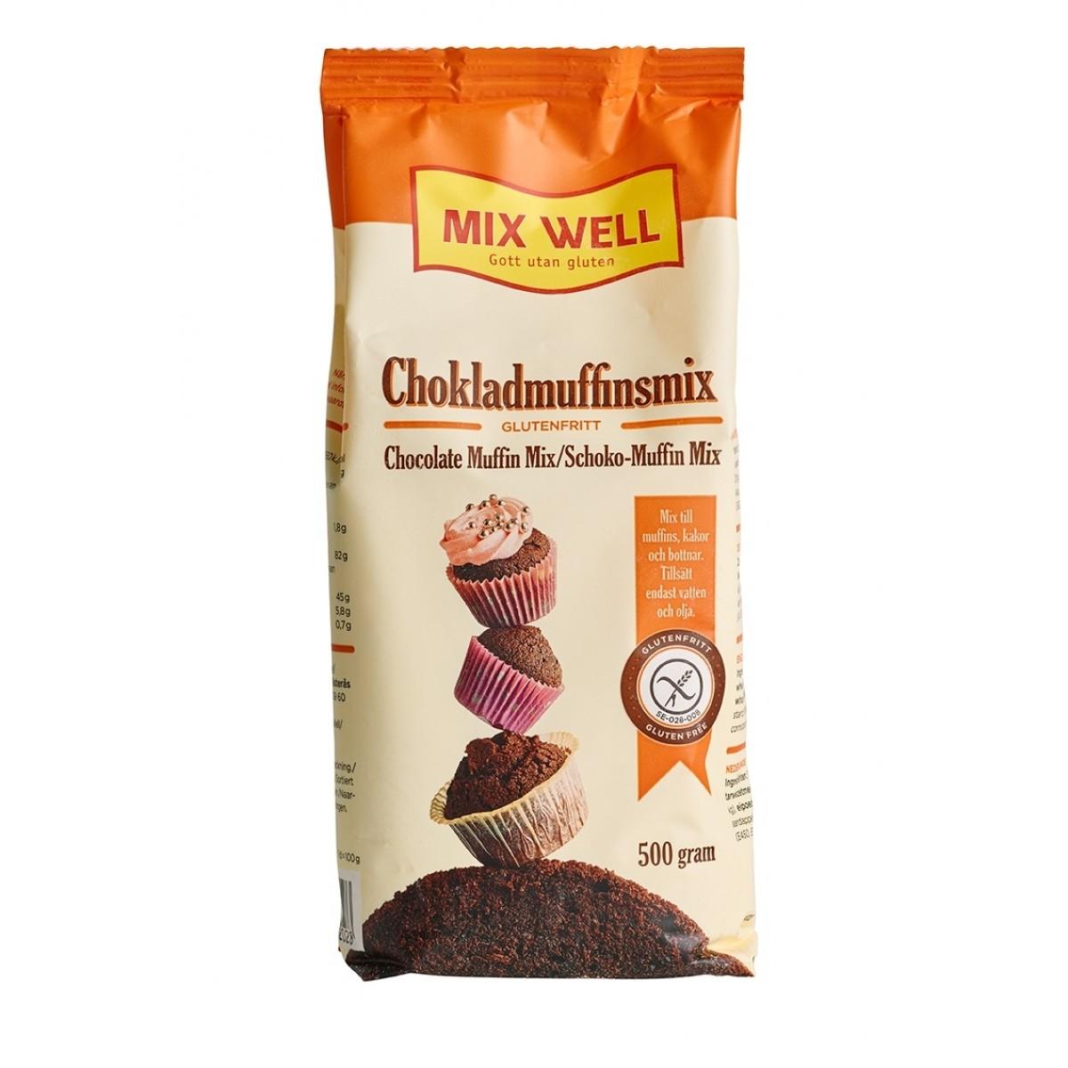 Chocolade Muffinmix 202