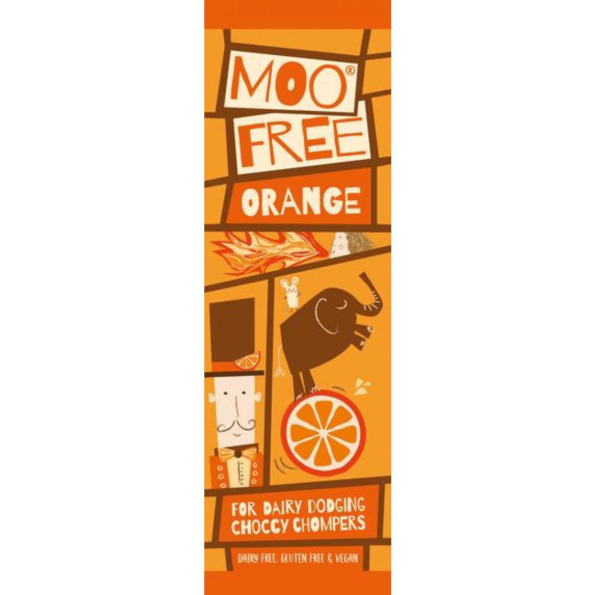 Mini Bar Chocolade Orange Lactosevrij
