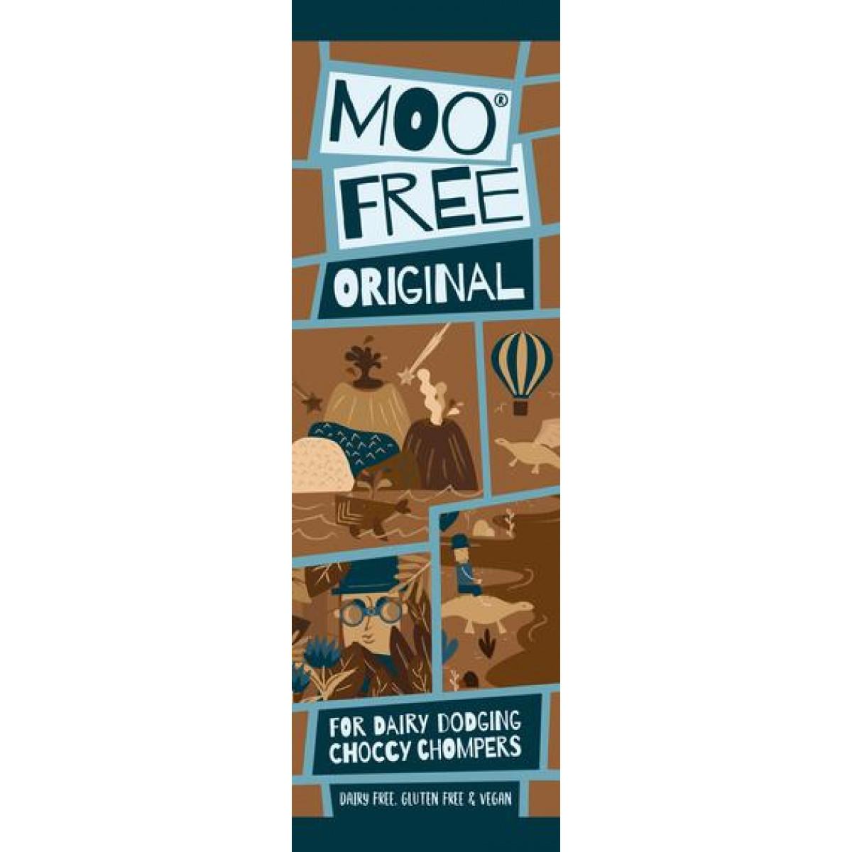 Mini Bar Chocolade Original Lactosevrij