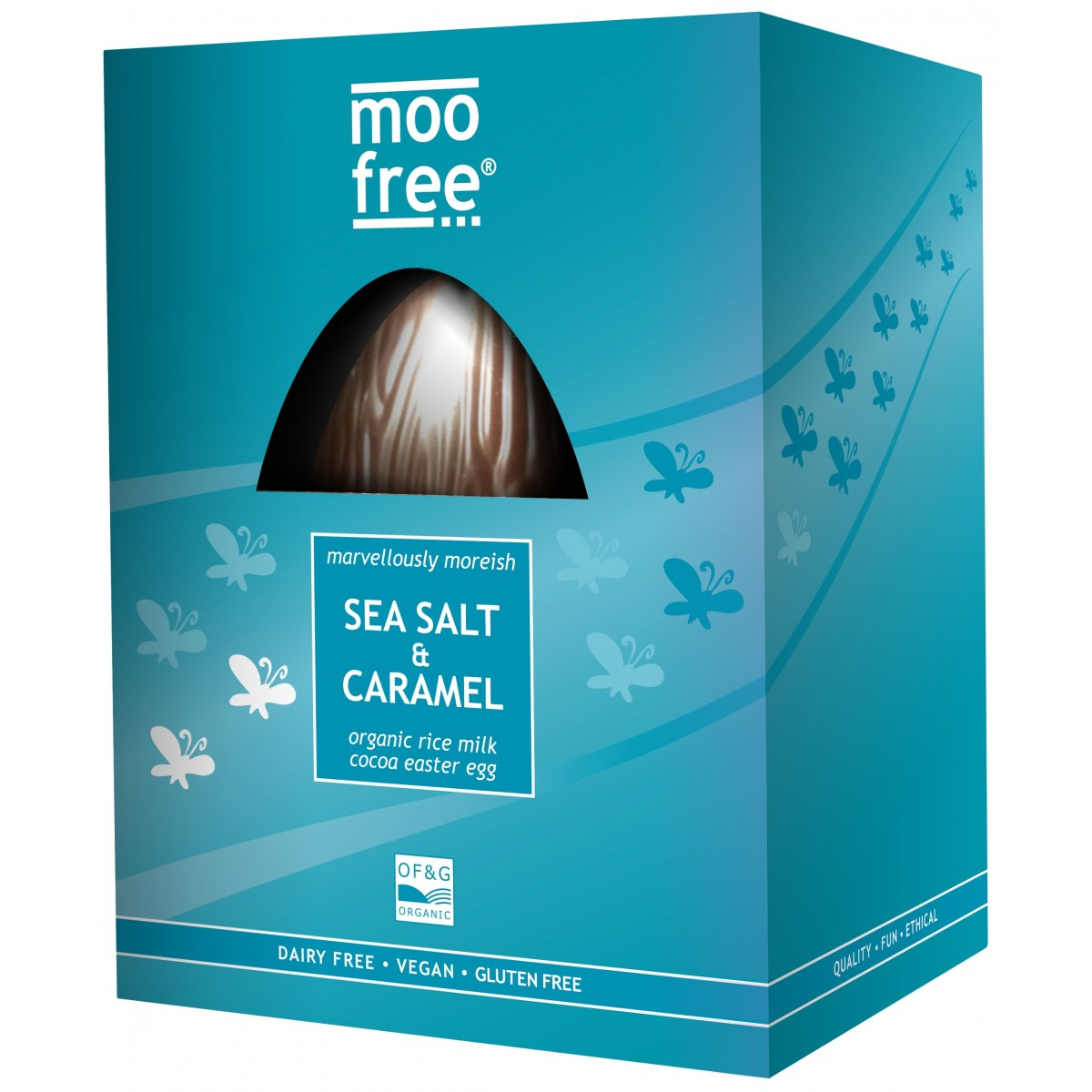 Rijstmelk Chocolade Paasei Sea Salt & Caramel