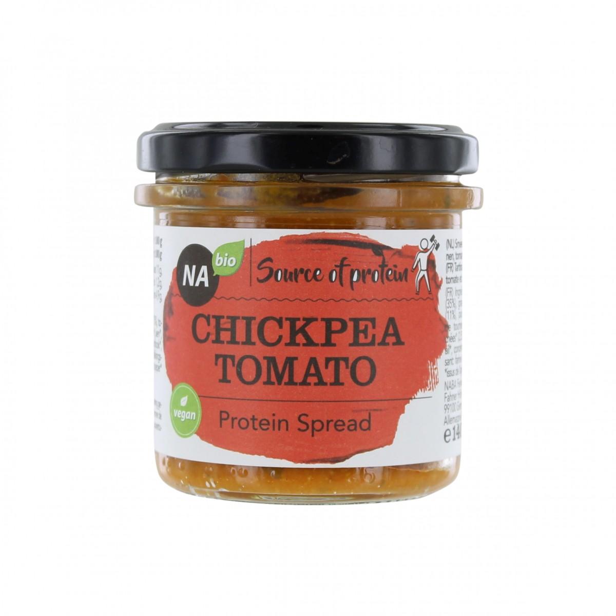Protein Spread Kikkererwten Tomaat