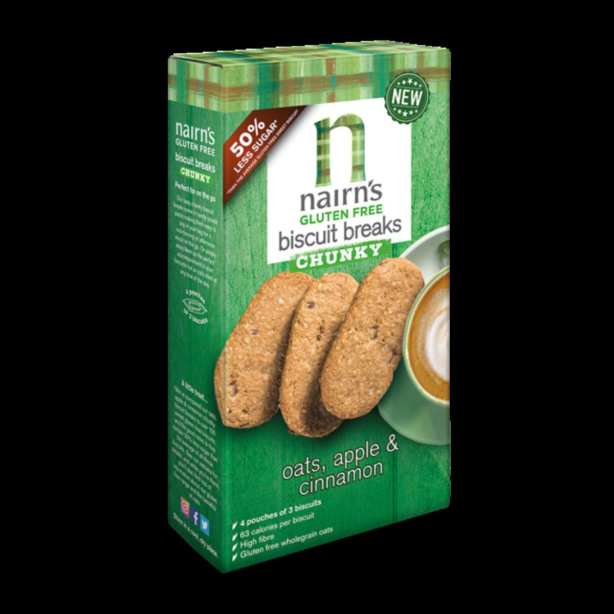 Biscuit Breaks Chunky Oats, Apple & Cinnamon
