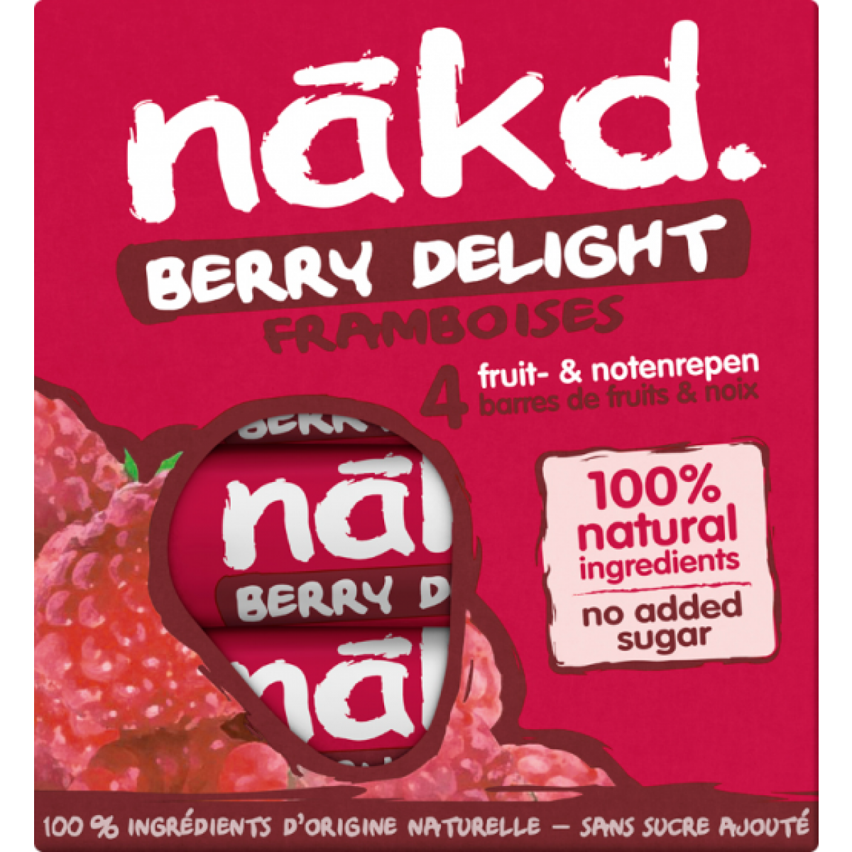 4-pack Berry Delight Bar