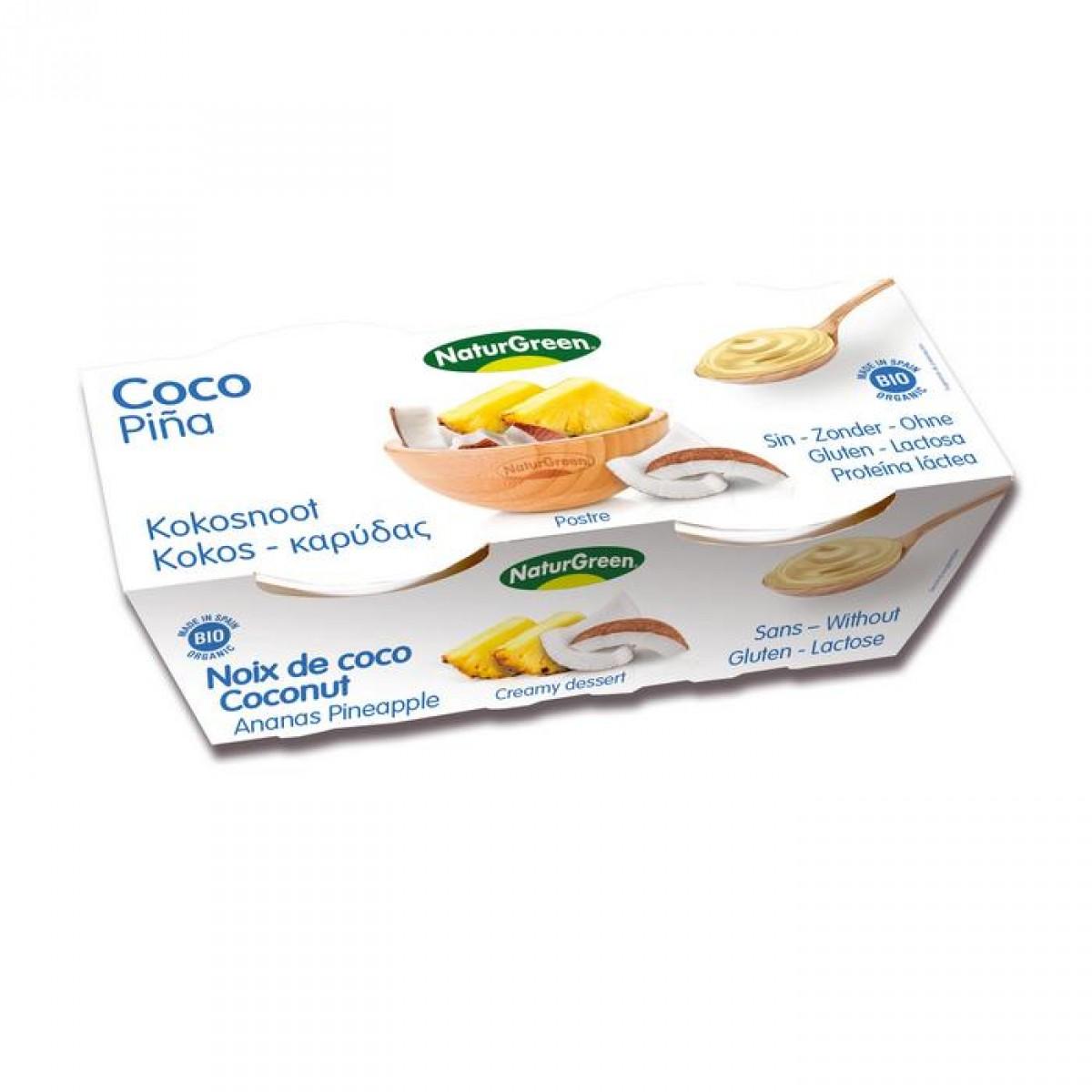 Kokos Dessert Ananas