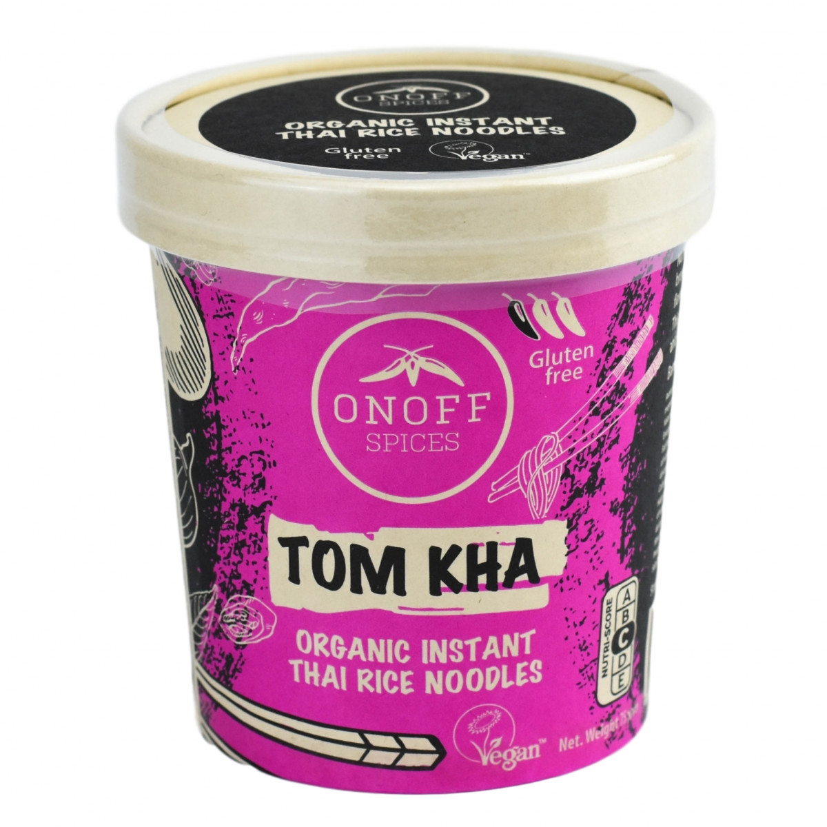 Instant Thaise Rijst Noodles Tom Kha
