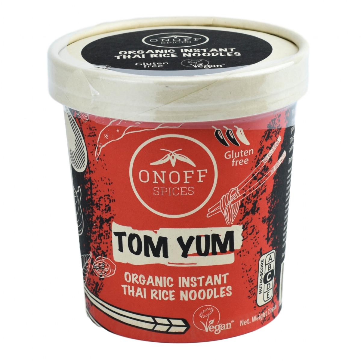 Instant Thaise Rijst Noodles Tom Yum