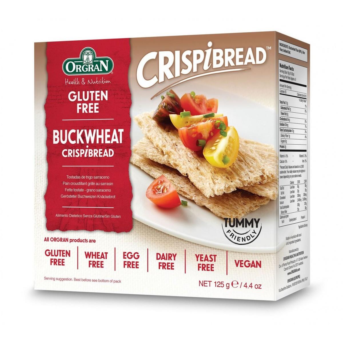 Boekweit Crackers
