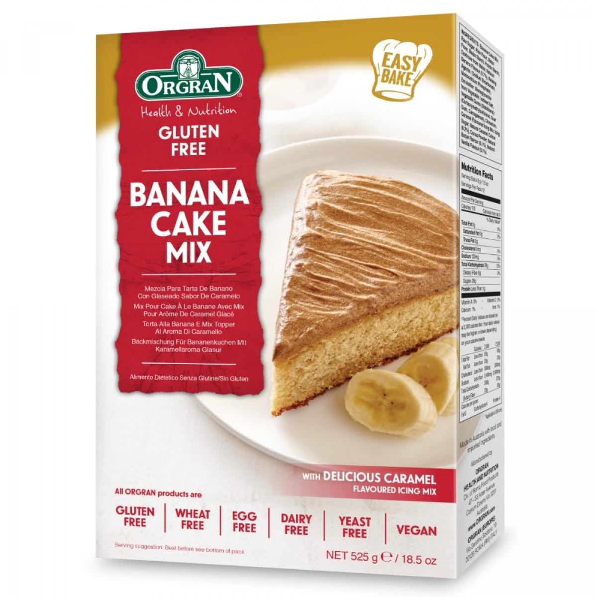 Bananen Cake Mix