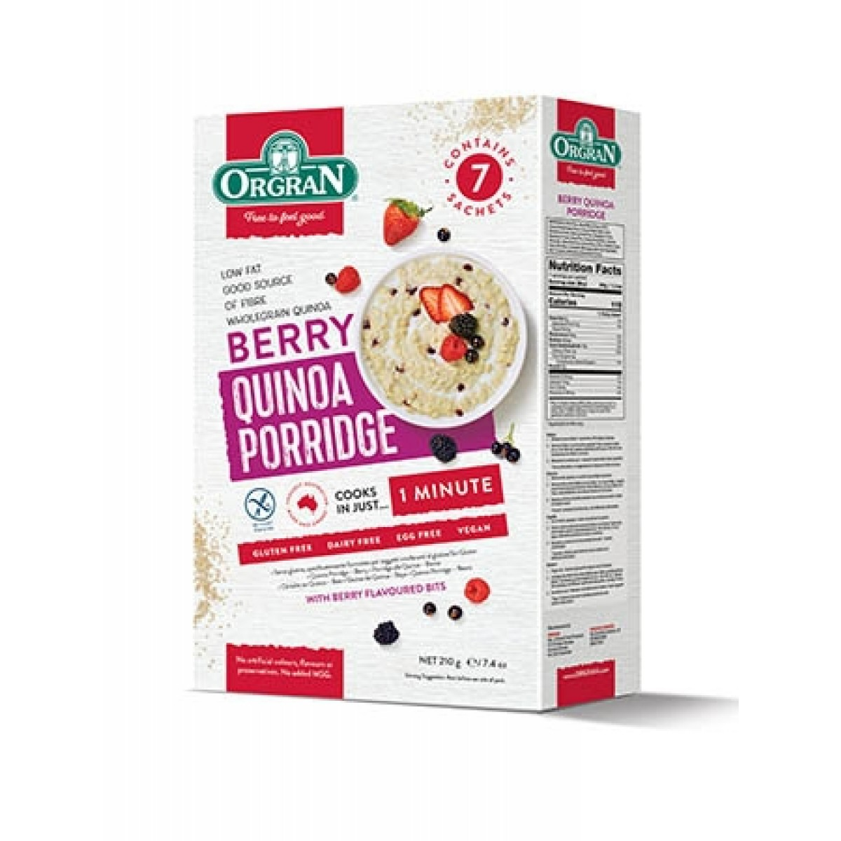 Quinoa Porridge Berry