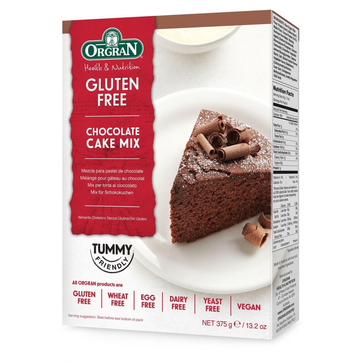 Chocolade Cake Mix
