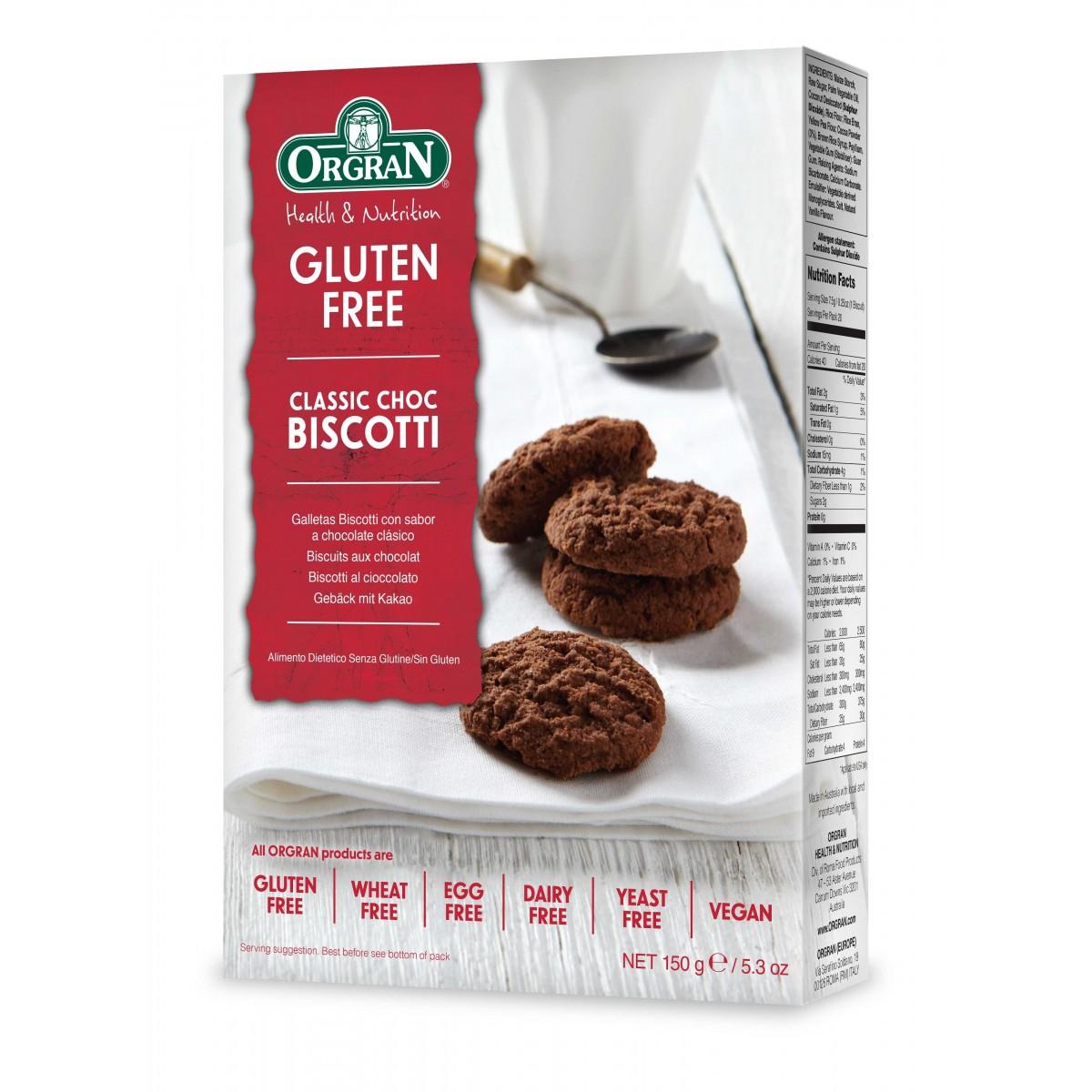 Classic Choc Biscotti
