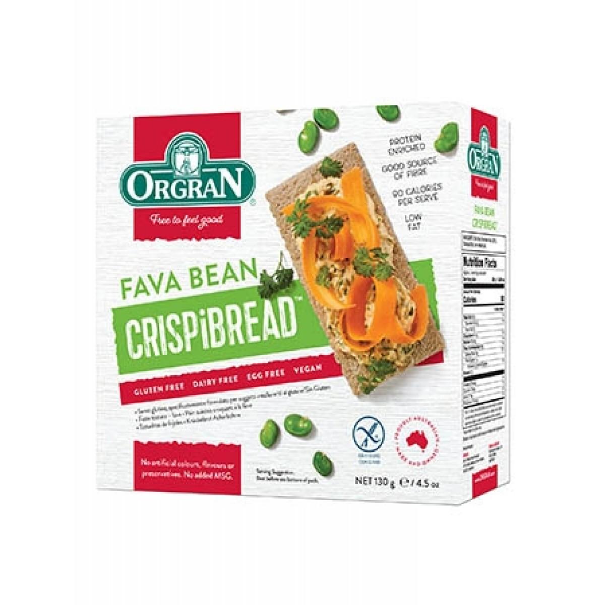 Fava Bean Crackers