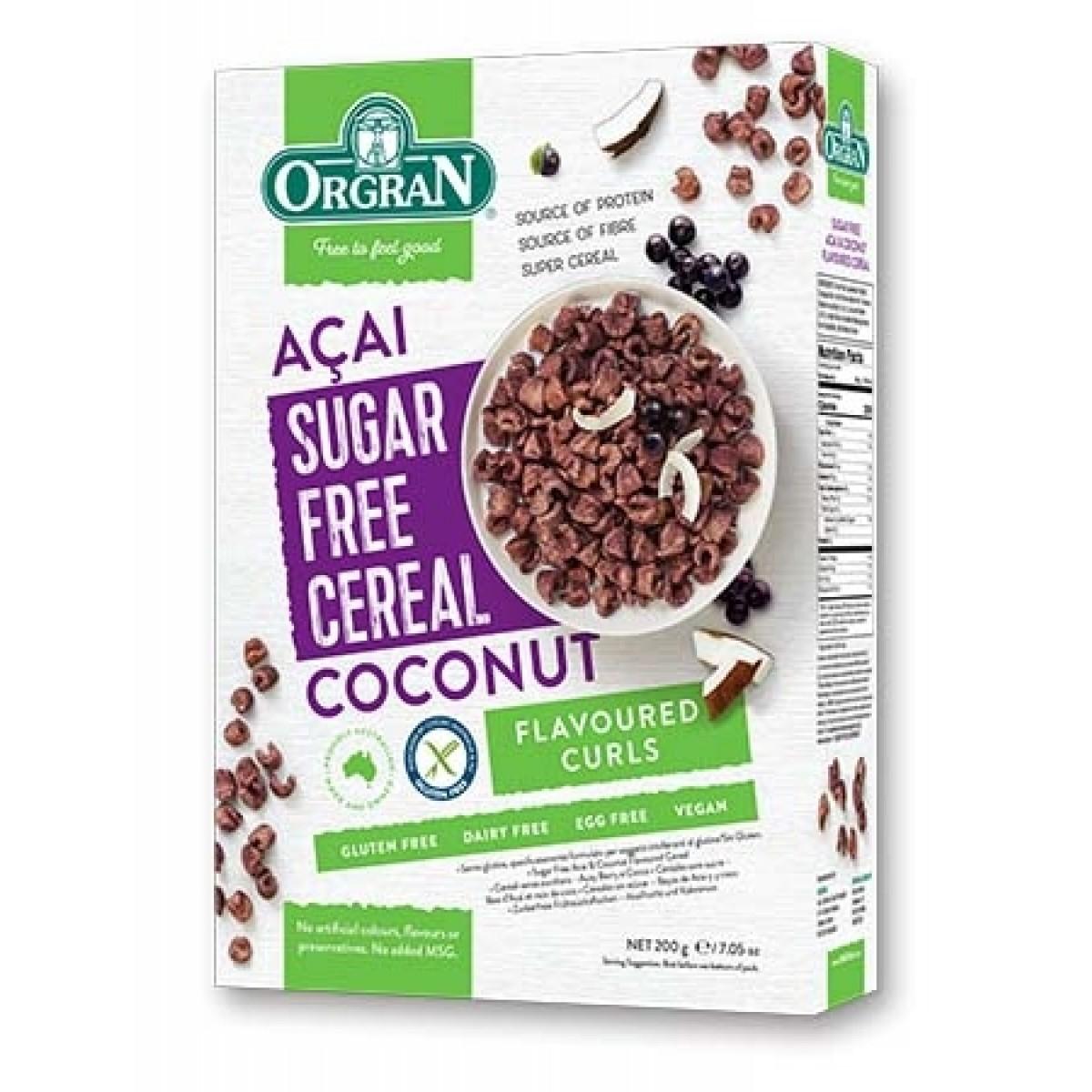 Ontbijtgranen Acai-bes & Kokosnoot Suikervrij